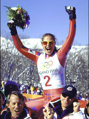 Picabo Street, Motivation olympics, olympians, skier, overcoming adversity, women, winter olympics, Motivation, NSB