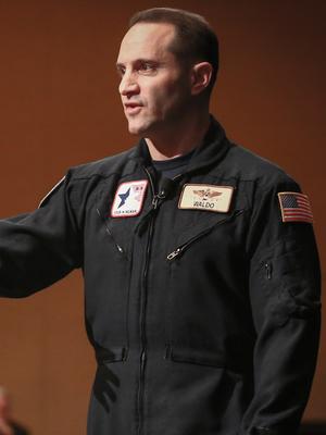 Waldo Waldman, Astronauts & Aviators