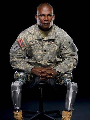 Col. Greg Gadson, Disabilities