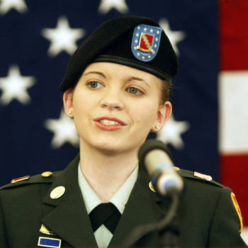 Jessica Lynch female military