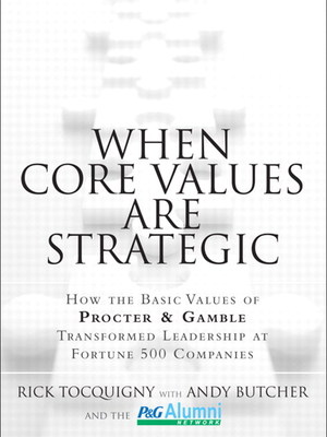 When Core Values Are Strategic by Cynthia Round