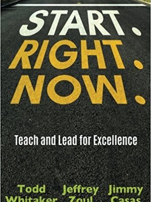 Start. Right. Now. by Jimmy Casas