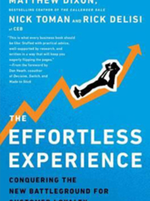 Effortless Experience by Matt Dixon
