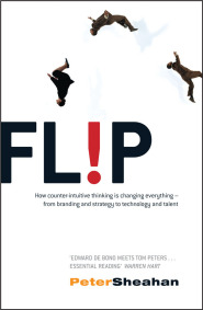 Flip Bookcover by Peter Sheahan