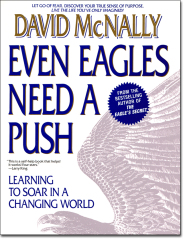 Even Eagles Need a Push by David McNally