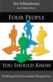 Four People - Book cover by Stu Schlackman
