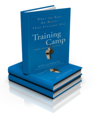 Training Camp 11 by Jon Gordon