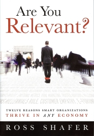 Are You Relevant Bookcover by Ross Shafer