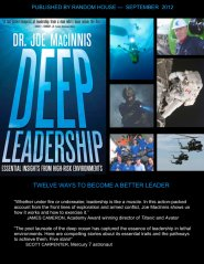 Deep Leadership - 9-12 by Joseph MacInnis