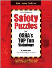 Safety Puzzles for OSHA's Top 10 Violations by Dr. Isabel Perry