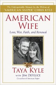 American Wife: https://bulkbooks.com/products/american-wife-love-war-faith-and-renewal by Taya Kyle