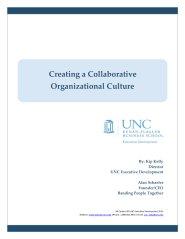 Creating a Collaborative Organization by Alan Schaefer