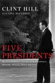 Five Presidents: https://bulkbooks.com/products/five-presidents-my-extraordinary-journey-with-eisenhower-kennedy-johnson-nixon-and-ford by Clint Hill and Lisa McCubbin