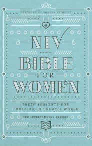 NIV, Bible for Women, Hardcover: Fresh Insights for Thriving in Today's World by Jessica Turner