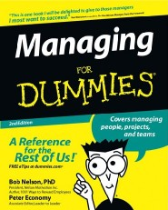 Managing For Dummies by Dr. Bob Nelson
