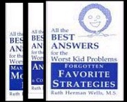 All the Best Answers for the Worst Kid Problems Book Series by Ruth Wells
