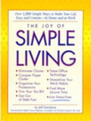 The Joy of Simple Living by Jeff Davidson